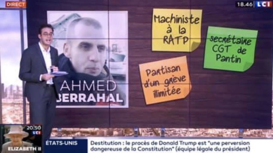 Ahmed Berrahal sur LCI