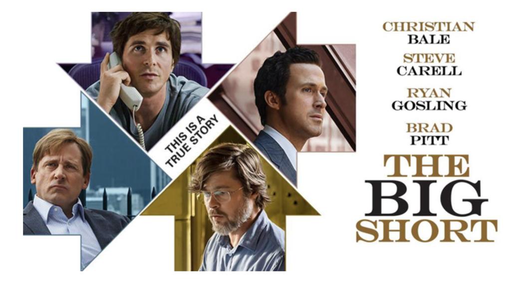 "Affiche du film ""The Big Short""."