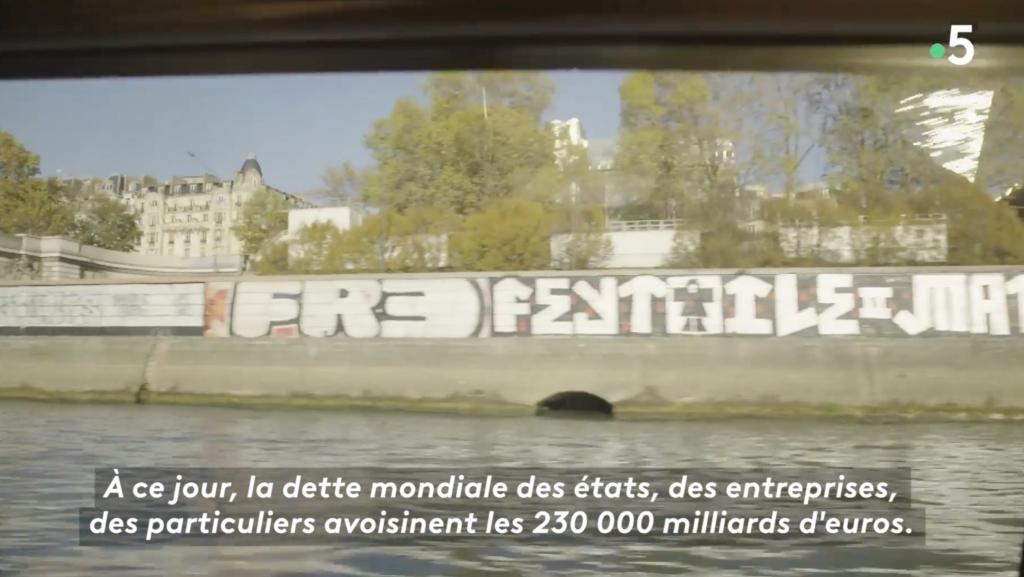 """Extrait du reportage """"dans le piège de la dette : La France est dans le déni"""""""