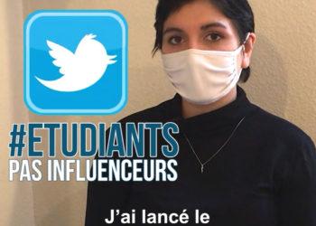 Alexane, créature du hashtag Étudiants pas Influenceurs