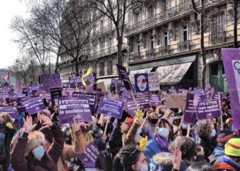 Manifestation du 8 Mars 2021