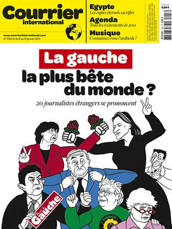 >L'Hebdo de Courrier International du 5 janvier 2011.