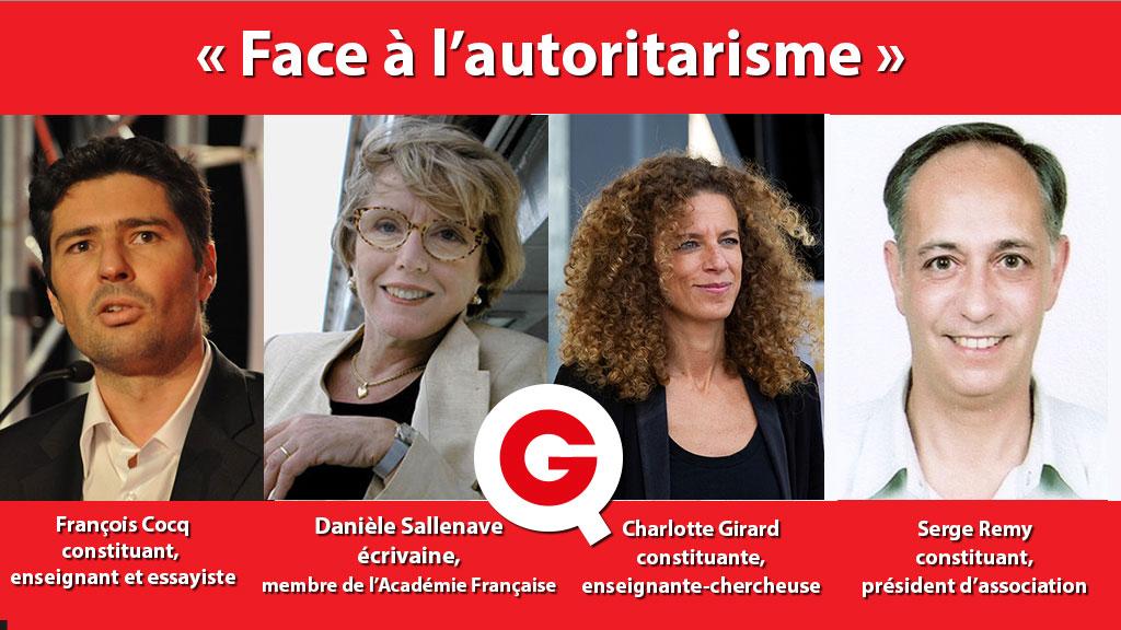 """Vignette du Quartier Constituant """"Face à l'autoritarisme"""""""