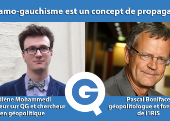 Adlène Mohammedi, chercheur en géopolitique et animateur pour QG reçoit Pascal Boniface, géopolitologue, fondateur et directeur de l'IRIS pour revenir sur le virage identitaire du gouvernement.