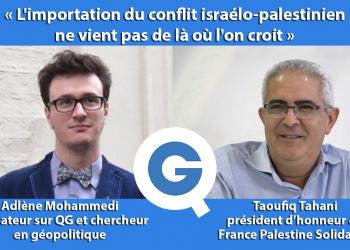 À l'heure d'un nouvel embrassement ravageur du conflit israélo-palestinien, notre animateur Adlène Mohammedi reçoit Taoufiq Tahani, président d'honneur de l'association France Palestine Solidarité pour nous aider à comprendre la situation, sa complexité, sa gravité