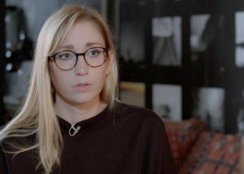 Claire Charlès, la porte-parole de l'association féministe Les effronté·es, qui milite pour l'abolition de la prostitution